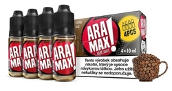 Liquid ARAMAX 4Pack Káva MAX (4x10ml)  - MAX COFFEE