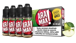Liquid ARAMAX 4Pack Jablko MAX (4x10ml)  - MAX APPLE