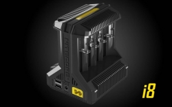 Nitecore Intellicharger I8 8-Slot
