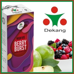 LIQUID DEKANG HIGH VG BERRY BURST 10ML (LESNÍ OVOCE S JABLKEM)
