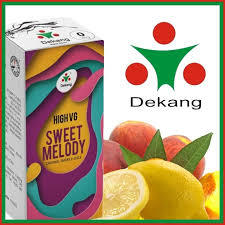 LIQUID DEKANG HIGH VG SWEET MELODY 10ML (BROSKEV S CITRÓNEM)