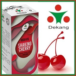 LIQUID DEKANG HIGH VG SHAKING CHERRY 10ML (KOKTEJTOVÁ TŘEŠEŇ)