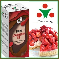 LIQUID DEKANG HIGH VG STRAWBERRY PIE 10ML (JAHODOVÝ KOLÁČ)