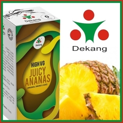 LIQUID DEKANG HIGH VG JUICY ANANAS 10ML (ŠŤAVŇATÝ ANANAS)