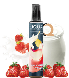 PŘÍCHUŤ LIQUA MIX&GO 12ML STRAWBERRY YOGURT