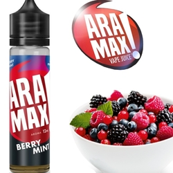 Příchuť Aramax Shake and Vape 12ml Berry Mint