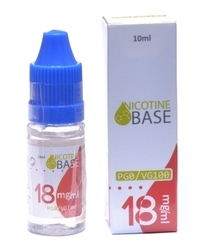 Nikotinový booster/báze  VG100/PG0, 18mg /10ml