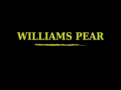 DEA - Williams Pear 10ml (Hruška)