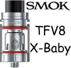 Smoktech TFV8 X-Baby clearomizer Silver