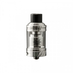 Authentic Teslacigs Captain 24 RTA Silver